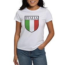 Italia Shield / Italy Flag Tee