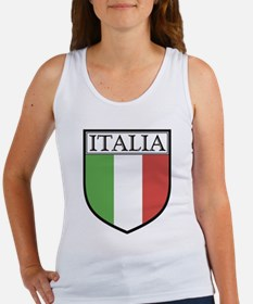 Italia Shield / Italy Flag Women's Tank Top