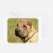 Shar Pei 9L039D-06 Greeting Cards (Pk of 10)