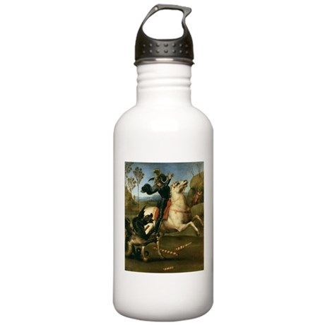 St George Fighting the Dragon Stainless Water Bott