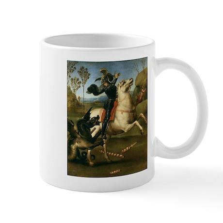 St George Fighting the Dragon Mug