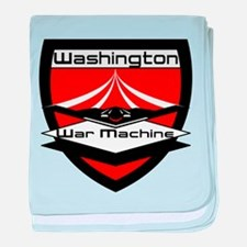 Washington War Machine baby blanket