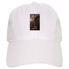 St Micheal and the Devil Baseball Cap