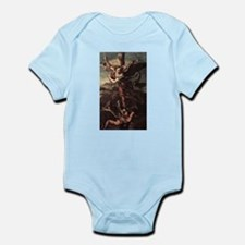 St Micheal and the Devil Infant Bodysuit