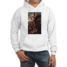 St Micheal and the Devil Hoodie