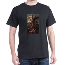 St Micheal and the Devil T-Shirt