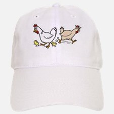 Hens and Chicks Baseball Baseball Cap