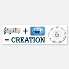 Creation Formula ~ Bumper Bumper Sticker