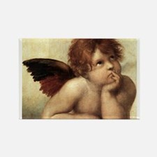 The Sistine Madonna (2nd deta Rectangle Magnet (10