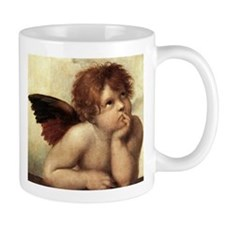 The Sistine Madonna (2nd deta Small Mug