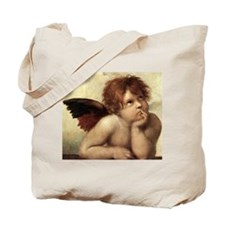 The Sistine Madonna (2nd deta Tote Bag