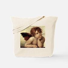 The Sistine Madonna (2nd deta Tote Bag