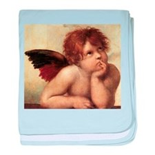 The Sistine Madonna (2nd deta baby blanket