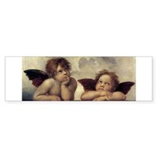The Sistine Madonna (detail) Bumper Sticker