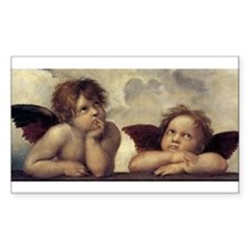 The Sistine Madonna (detail) Decal