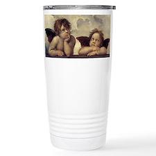 The Sistine Madonna (detail) Travel Mug