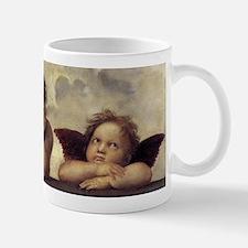 The Sistine Madonna (detail) Small Small Mug