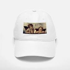 The Sistine Madonna (detail) Baseball Baseball Cap