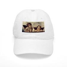 The Sistine Madonna (detail) Baseball Cap