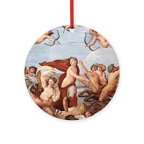 The Triumph of Galatea Ornament (Round)