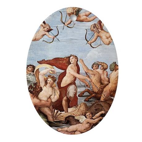 The Triumph of Galatea Ornament (Oval)