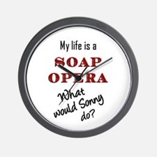 What Would Sonny Do? Wall Clock