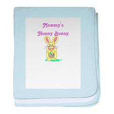 Hunny Bunny Pink baby blanket