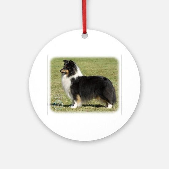 Shetland Sheepdog 9J088D-06 Ornament (Round)