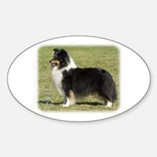 Shetland Sheepdog 9J088D-06 Sticker (Oval)