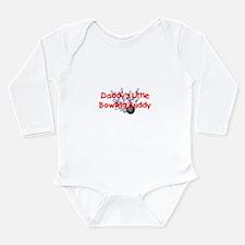 Funny Bowling buddy Long Sleeve Infant Bodysuit