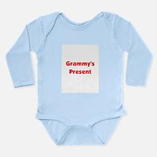 Cute Christmas grammie Long Sleeve Infant Bodysuit