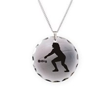 iDig Volleyball Necklace