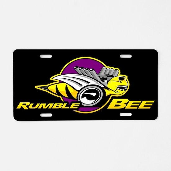 Rumble Bee Aluminum License Plate