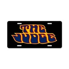 The Judge - Aluminum License Plate