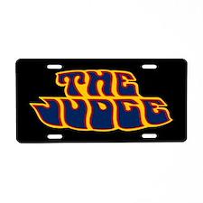 The Judge - Aluminum License Plate