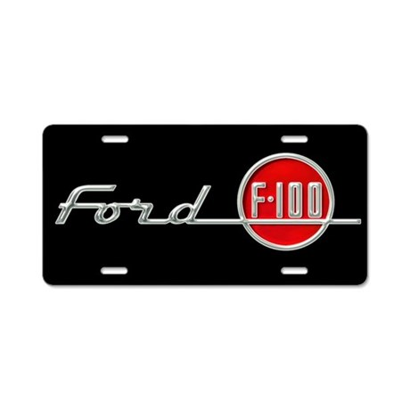 F-100 Aluminum License Plate