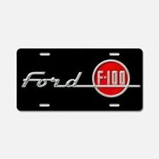 Ford F-100 Aluminum License Plate