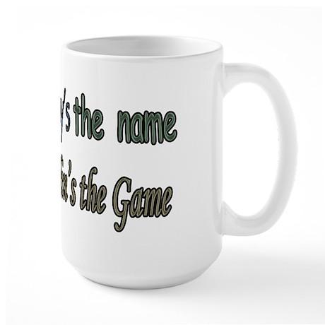 POPPY'S THE NAME,SPOILIN'S TH Large Mug