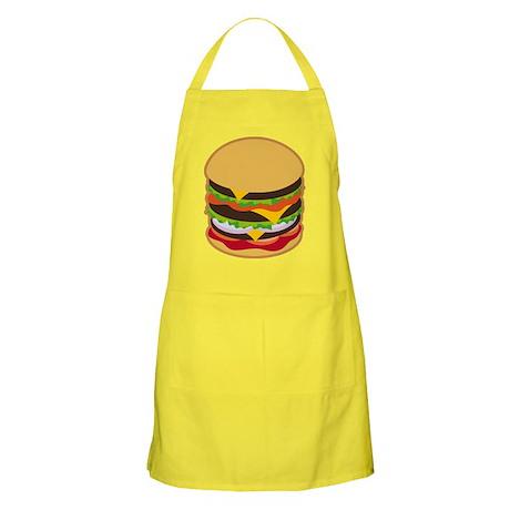 Big Hamburger Kitchen or Barbecue Apron