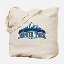 Winter Park Blue Mountain Tote Bag