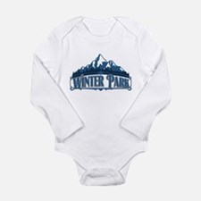 Winter Park Blue Mountain Long Sleeve Infant Bodys