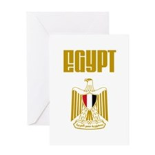Egypt Eagle English Greeting Card