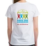 Women's T-Shirt, STL on back