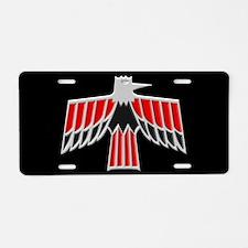 Early Firebird / Trans Am Aluminum License Plate