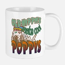 OLD HIPPIES MAKE COOL POPPYS Mug