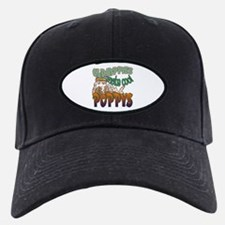 OLD HIPPIES MAKE COOL POPPYS Baseball Hat