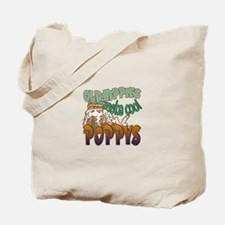 OLD HIPPIES MAKE COOL POPPYS Tote Bag