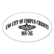 USS CITY OF CORPUS CHRISTI Decal