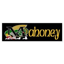 Mahoney Celtic Dragon Bumper Bumper Sticker