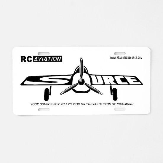 Unique Rc Aluminum License Plate